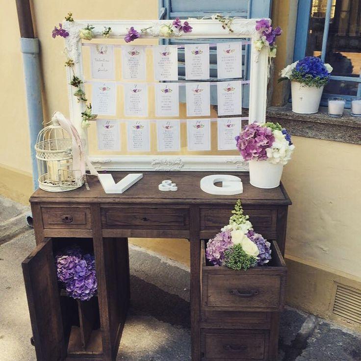 Tableau de mariage V&G