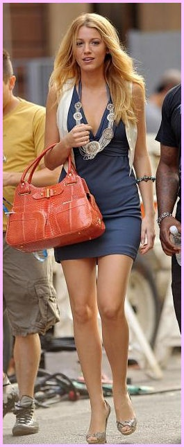 Blake Lively    S in Fashion Avenue: Serena Van der Woodsen style