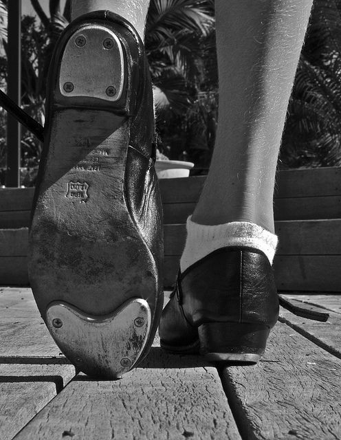 I am a tap dancer! I started when I was too short to even reach the barre. Even though I do not have time during the week to take classes anymore, choreographing small routines has helped me to clear my mind, and express my emotions. All you need is a pair of tap shoes, a hard surface, and time to explore the different sounds, turns, and movements you can do!