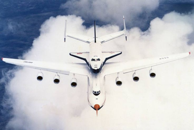 Russian - Space Shuttle OK-GLI Buran With Antonov AN-225 Mriya in 1989 (2)