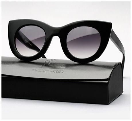 Thierry Lasry Orgasmy Cat-Eye Sunglasses in black
