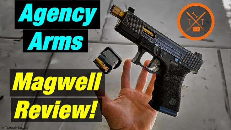 Agency Arms Magwell Review & Coupon Code: Custom Glock 19! - YouTube Save those thumbs & bucks w/ free shipping on this magloader I purchased mine http://www.amazon.com/shops/raeind  No more leaving the last round out because it is too hard to get in. And you will load them faster and easier, to maximize your shooting enjoyment.  loader does it all easily, painlessly, and perfectly reliably