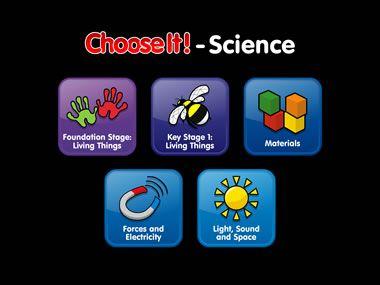 ChooseIt! Science se compose d'une présentation simple et cohérente, d'un langage clair, d'une accessibilité pour contacteur et un support audio complet ce qui en fait une ressource essentielle aux enfants ayant des besoins spéciaux. Compte-rendu de performances intégré.