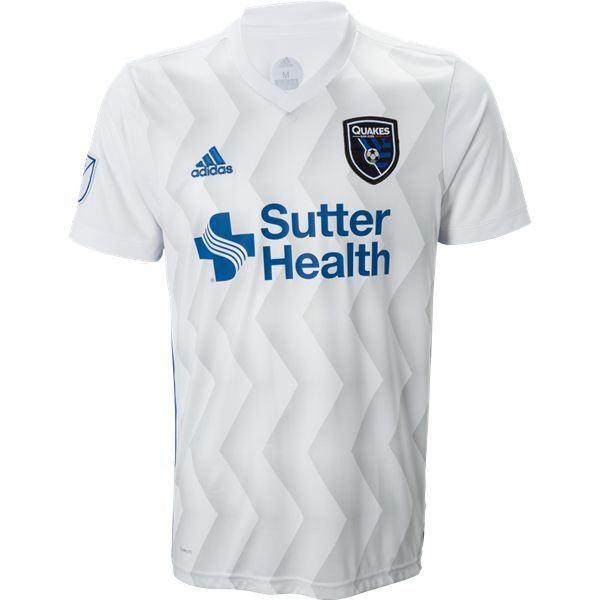 adidas San Jose Earthquakes Away Jersey 2018 - The all new adidas MLS 2018 jerseys. Available now at WorldSoccerShop.com