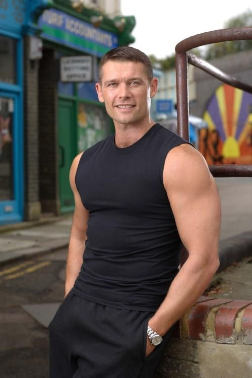 Christian Clarke played by John Partridge...be still my heart!