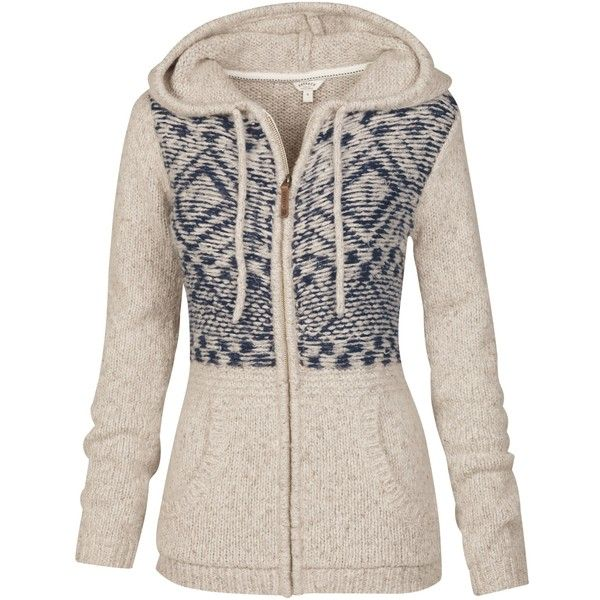 Fat Face Alicia Aztec Zip Thru Cardigan, Ivory (110 CAD) ❤ liked on Polyvore featuring tops, cardigans, zipper cardigan, leather top, hooded cardigan, zip top y ivory top