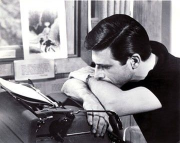 Harlan Ellison. Notoriously contentious author. Never read him, but this shot is classic.