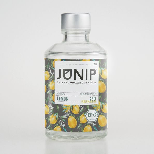 Our JUNIP Lemon is your perfect companion when you want a refreshing drink, whether it's a cold glass of water or a cocktail – JUNIP Lemon is a winner. Some believe that if life gives you lemons, you should make lemonade… Now try to find somebody whose life has given them vodka and have a party. Let yourself get entertained from our fizzy JUNIP Lemon.