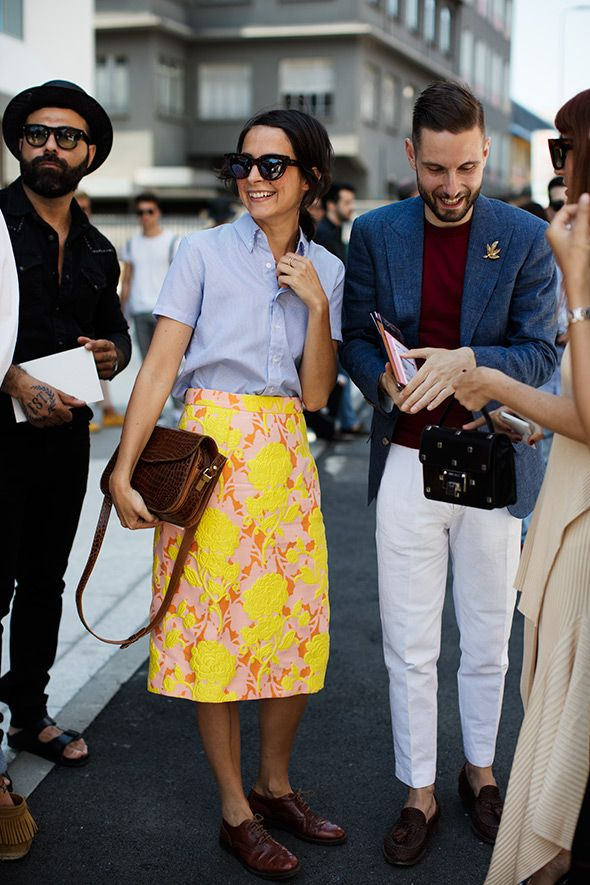 """On the Street...Fashion Team,"" The Sartorialist (10 July 2015)."