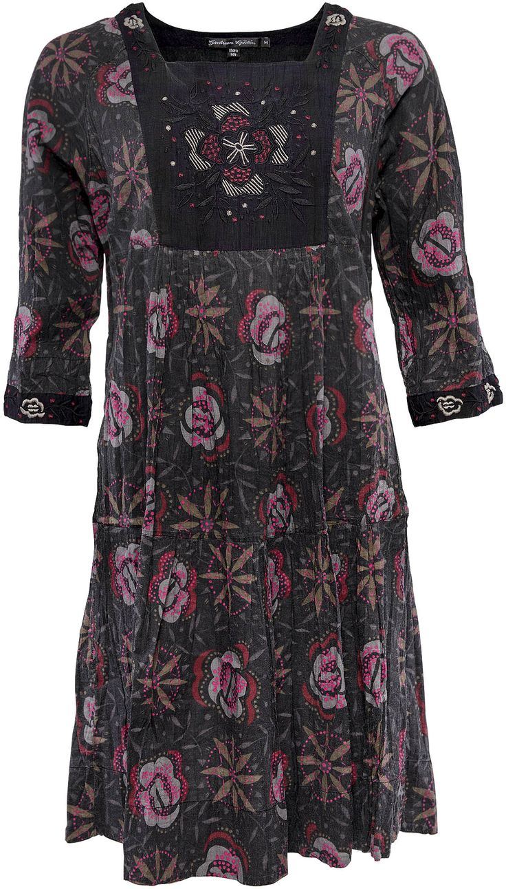 gudrun sj d ns winterkollektion 2014 kleid flora aus ko baumwolle mehr unter http www. Black Bedroom Furniture Sets. Home Design Ideas