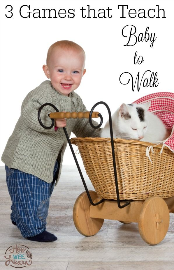 These 3 tried and true gross motor games for baby will have your baby up and walking in no time! Teaching baby to walk has never been easier.