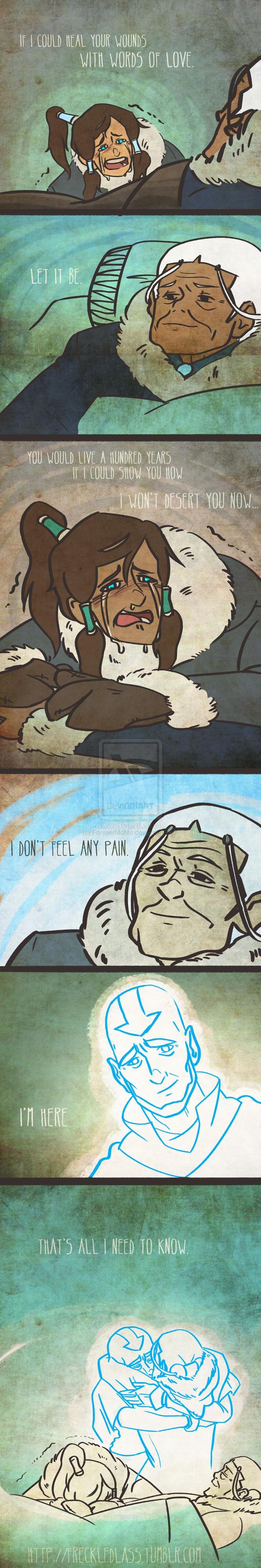 Avatar the last airbender love *sobs*