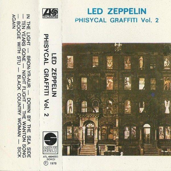 Led Zeppelin - Physical Graffiti (Cassette, Album) at Discogs