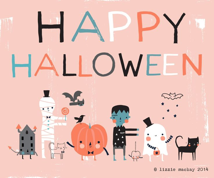 Lizzie Mackay:   Wishing you a merry spooksville time this week P...