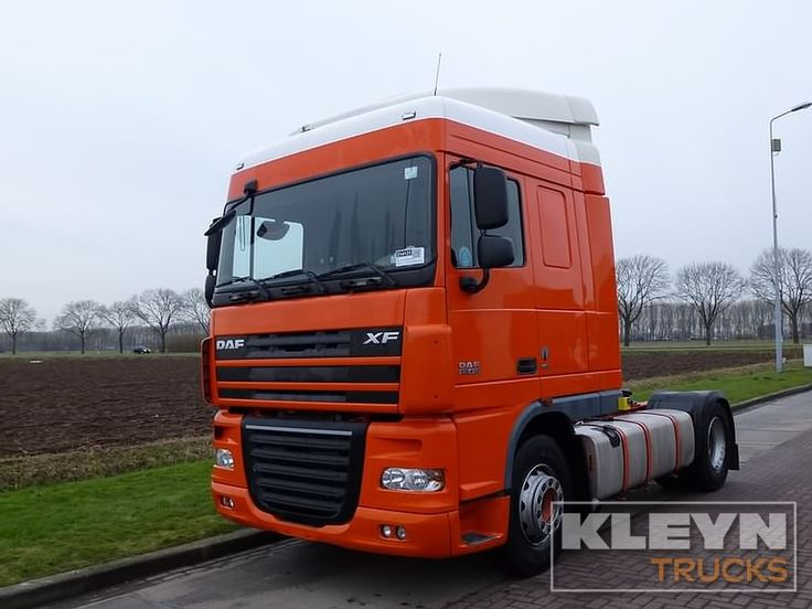 For sale: Used and second hand - Tractor unit DAF XF 105.410 #daftrucks #kleyntrucks