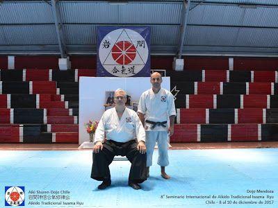 Aikido  Mendoza Iwama : Alessandro Tittarelli sensei (8ºDan) y Santiago Em...