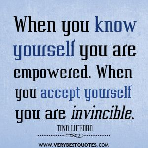Accept Yourself Quotes