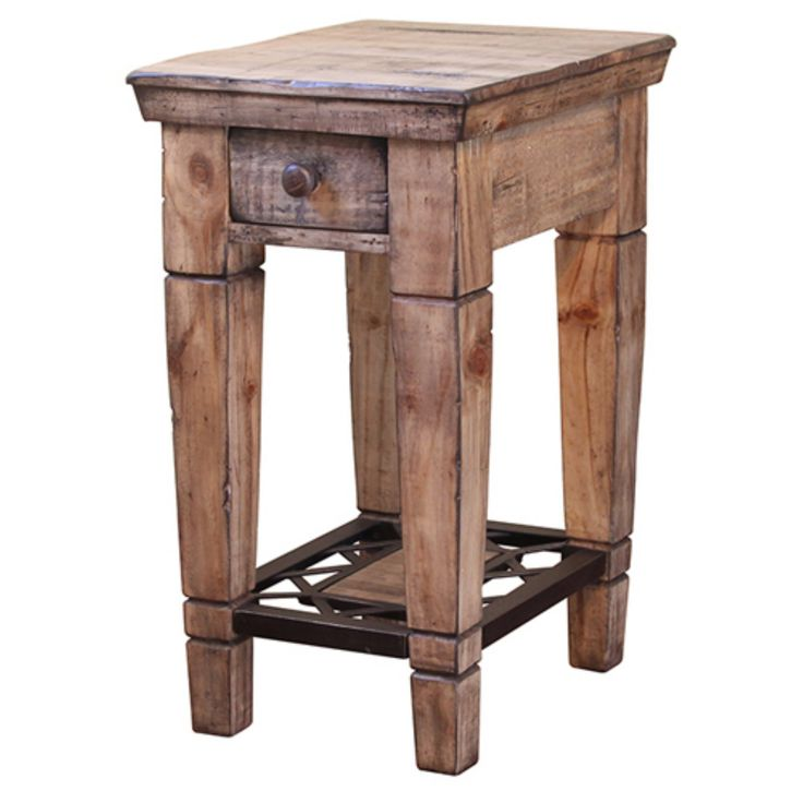 International Furniture Direct Cabo IFD1035CST Chairside End Table - IFD1035CST