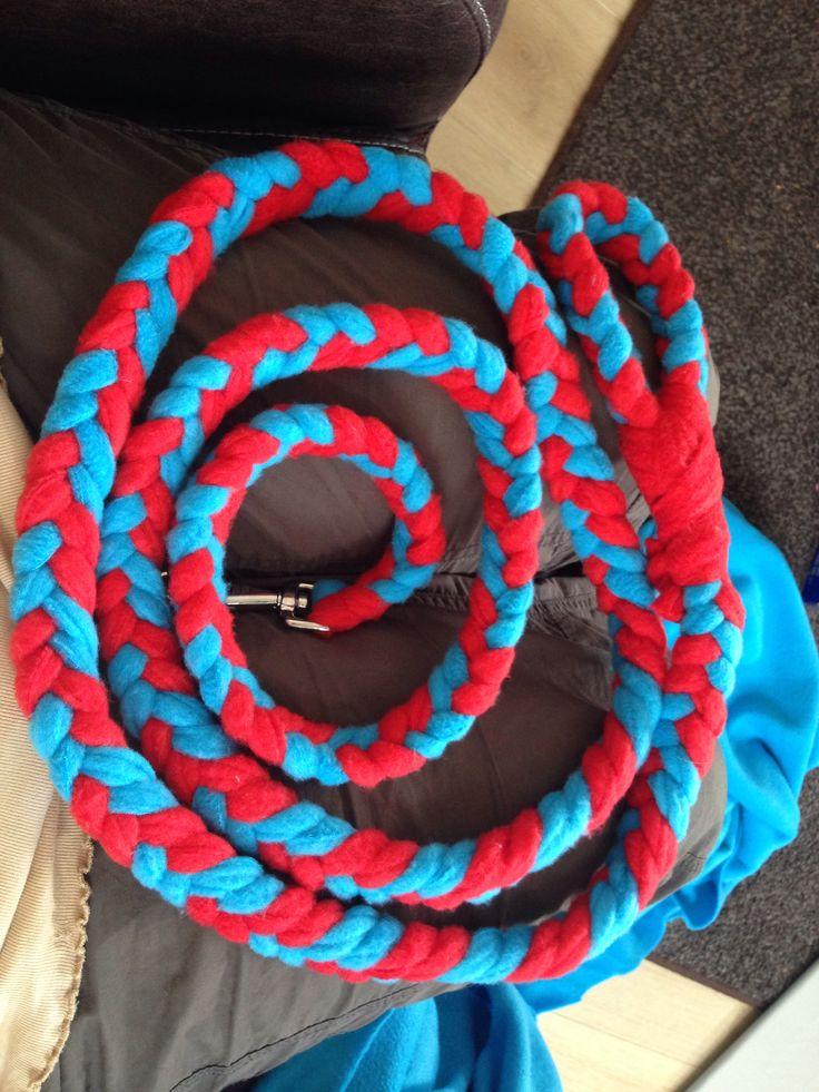 Fleece riem ongeveer 3 meter lang