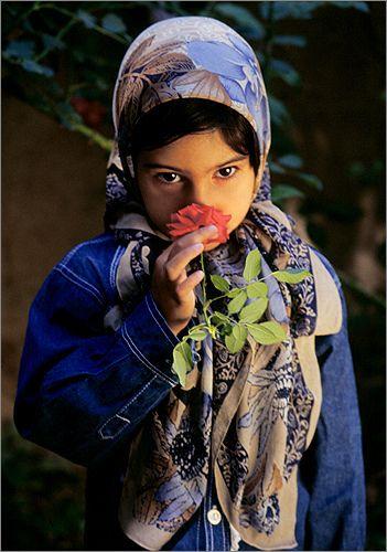 Outdoors portrait: Persian (Iranian) portraits - eznaveh-04 by Bahman Farzad, via Flickr