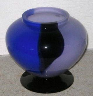 Farbfeuer in blue Designed by Michael Böhm 16 cm