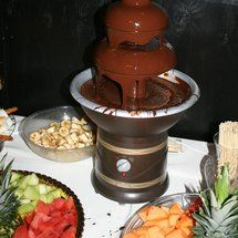 DIY Chocolate Fountain - Project Wedding: Chocolate Fountains, Advice Ideas, Challenges, Chocolates Fountain, Wedding Ideas, Projects Wedding, Bridal Shower, Diy Wedding, Diy Chocolates