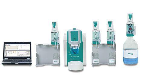 Professional CVS (Metrohm): El 894 Professional CVS reduce el trabajo manual usando los Dosinos de Metrohm para dosificación automática de muestras y soluciones. http://www.gomensoro.net/