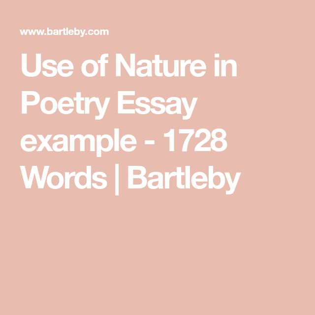 the best example of simile ideas simile  use of nature in poetry essay example 1728 words bartleby