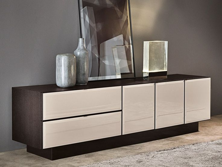 Lacquered wooden sideboard morrison lacquered sideboard - Mobili buffet moderni ...