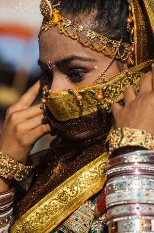 Dressed for the Pushkar Camel Fair