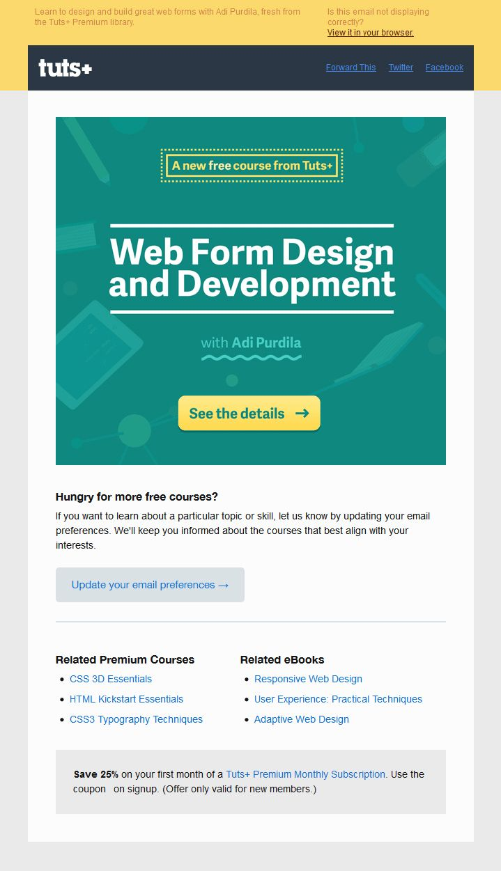Best Welcome Emails Images On   Email Design Email