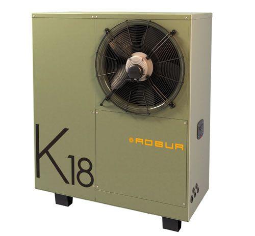 Pompa di calore a metano e energia rinnovabile aerotermica | Robur K18