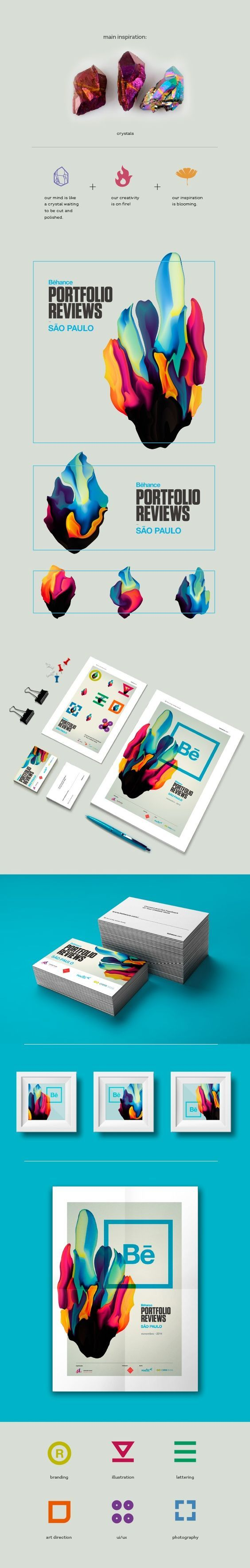 Graphic Design // Logos // Brand / Behance Portfolio Reviews SP #6 on Behance: