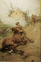 Goodbye old man - Horses in WWI
