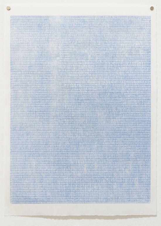Bonolo Kavula, 'Untitled III' (2015), Linocut on Sumi-e paper, 45.5 x 32cm