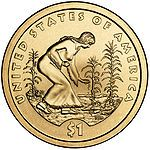 Sacagawea dollar 2009 reverse