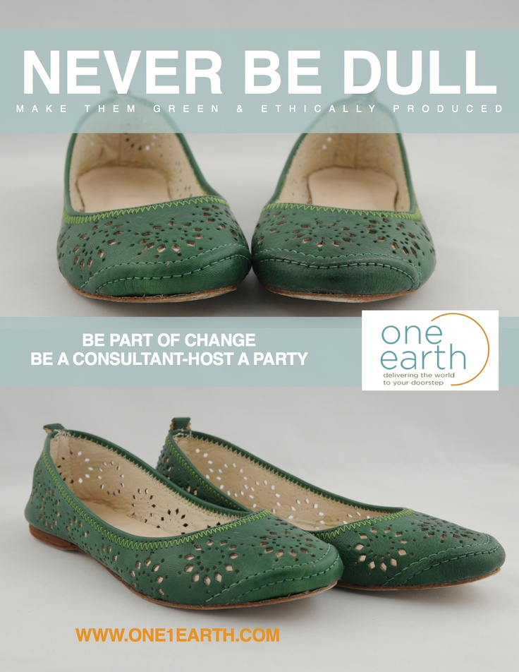 #flats #ethicallymade #green #handcrafted #oneearth