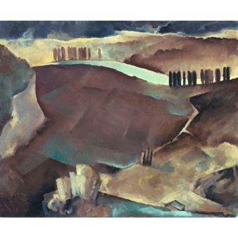 LANDSCAPE By Rodolphe-Théophile Bosshard