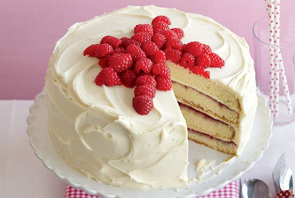 Canada's Best Raspberry Layer Cake