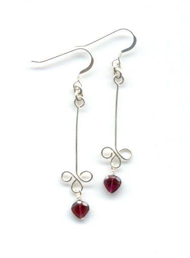 Sterling silver earrings, bead earrings, handmade beaded earrings http://trendvee.com/sterling-silver-earrings-bead-earrings-handmade-beaded-earrings/