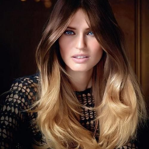 ombre hair -- like this