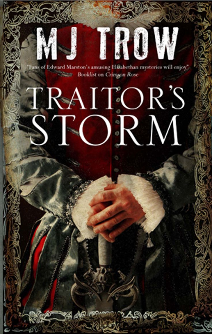 Traitor's Storm by M. J. Trow  May, 1588. With Elizabeth I's court rocked by stories of an imminent invasion and one of his key undercover agents missing, Sir Francis Walsingham despatches Kit Marlowe to the Isle of Wight off the south coast: the first line of defence against the approaching Spanish Armada.Lodging at Carisbrooke Castle with the Isle of Wight's Governor, Sir George Carey, Marlowe finds the Islanders a strange and suspicious lot, with their own peculiar...