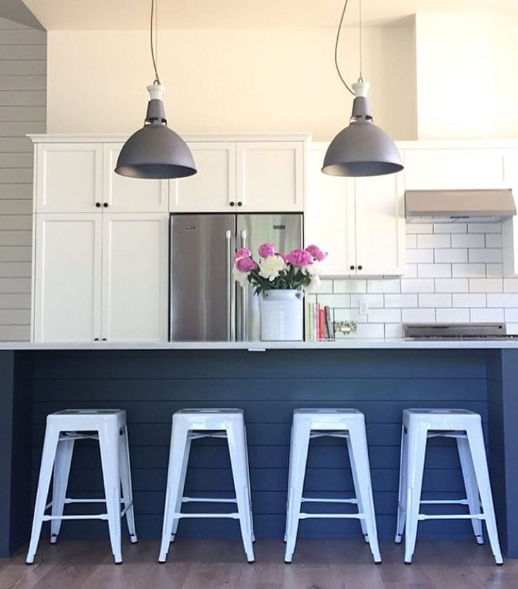 Shiplap island bright white stools my shiplap island will be white