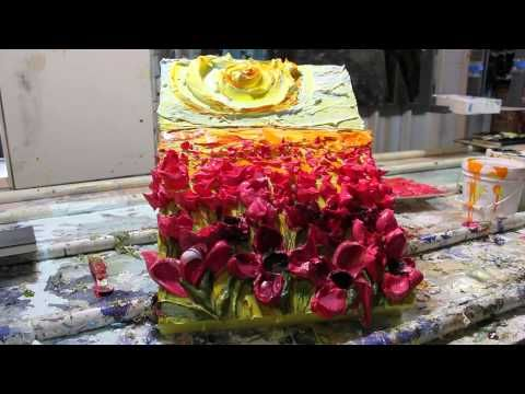 Justin Gaffrey Studio / Gallery - YouTube