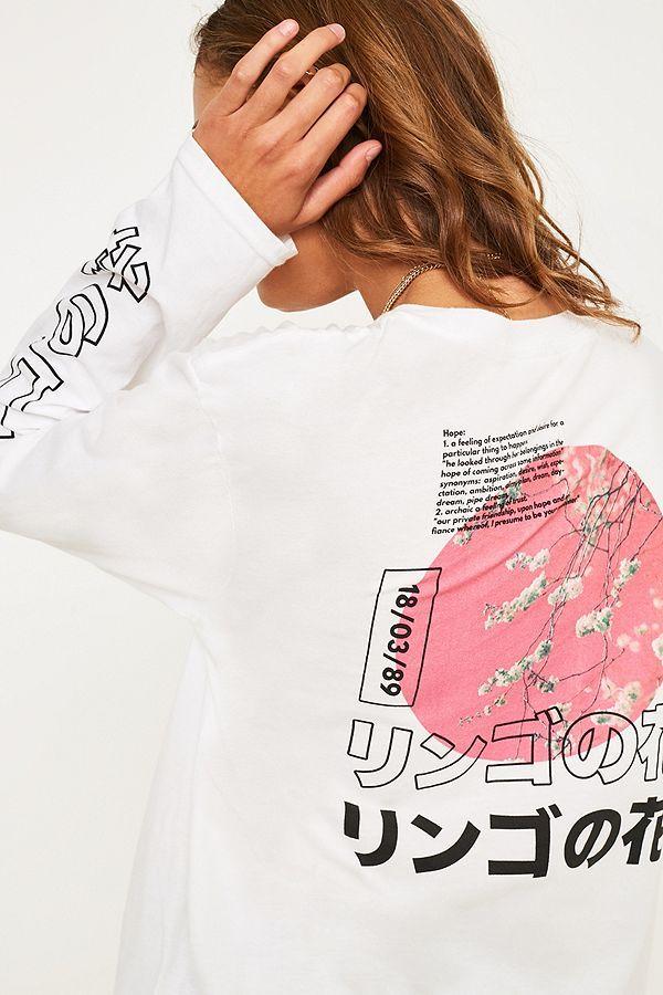 6bdf1d0cd Apple Blossom Long-Sleeve Skate T-Shirt | #Clothing SET | Skate t ...