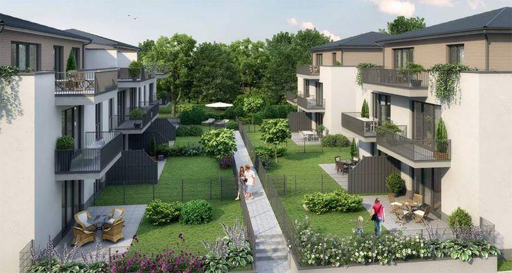 Parkside Bieber Neubau von 22 Eigentumswohnungen