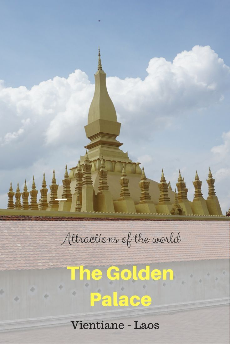 Checkout the this amazing attraction of the world as I take you inside the Golden Palace in Vientiane, Laos.
