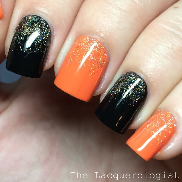 The Lacquerologist: Sally Hansen Miracle Gel Halloween Shades: Swatches & Easy Nail Art                                                                                                                                                                                 More