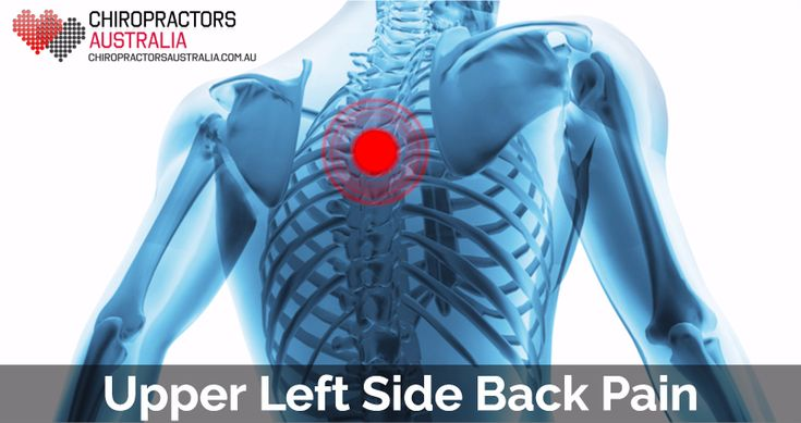 Causes Of Upper Back Pain On Left Side Can Gastritis