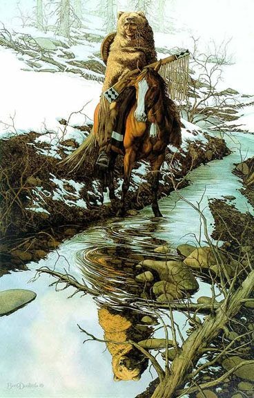 'Spirit of the Grizzly' by Beverly Doolittle.  Just beautiful.